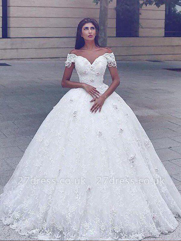Sleeveless  Sexy Mermaid Lace Straps  Wedding Dresses UK