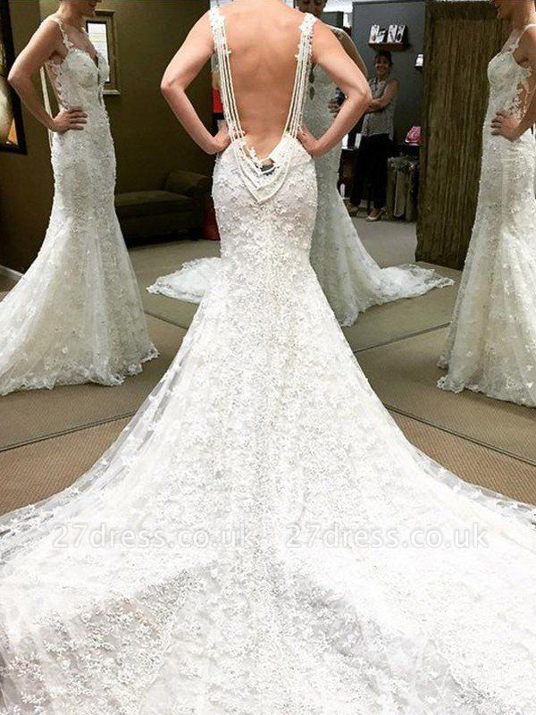 Lace Floor-Length Short Sleeves Ball Gown Off-the-Shoulder Wedding Dresses UK