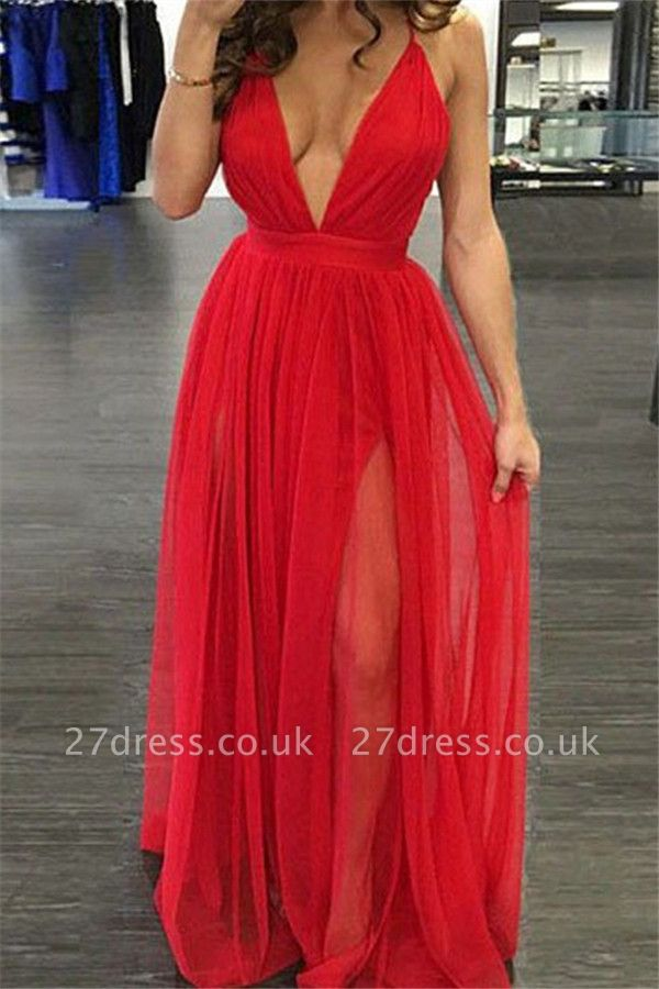 Sexy Off-the-Shoulder Lace Appliques Prom Dress UKes UKSimple Long Sleeves Evening Dress UKes UK