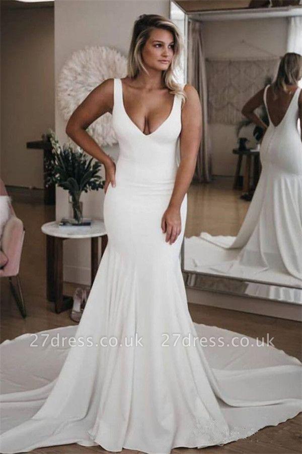 Elegant FLower Appliques Sweetheart Wedding Dresses UK Sheer Cheap Sleeveless Floral Bridal Gowns