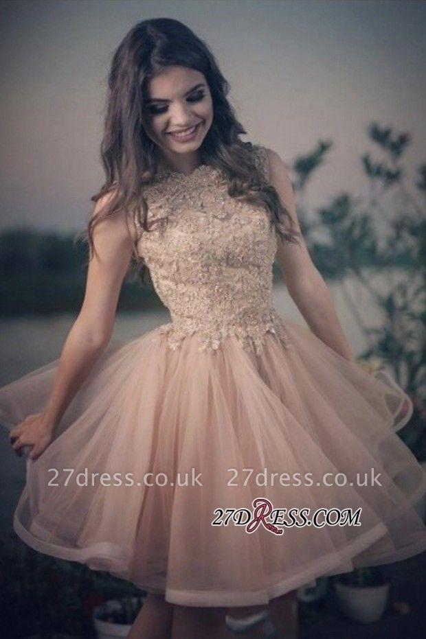 Lovely Lace Homecoming Dress UKes UK | Short Prom Dress UK Online
