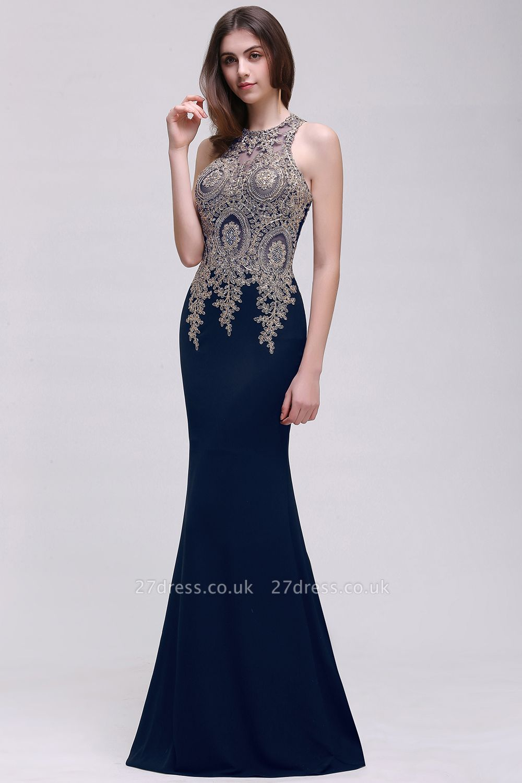 BROOKLYNN   Mermaid Black Prom Dresses with Lace Appliques