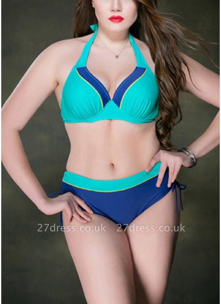 Plus Size Underwire Push Up Sexy Bikini Padded Swimsuit