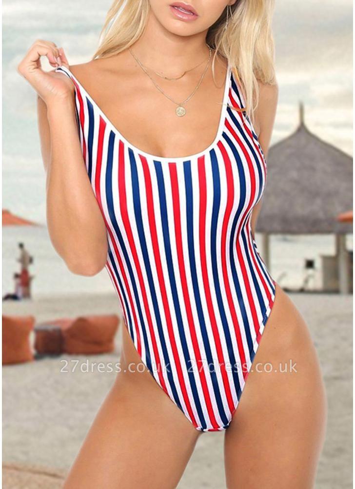 Women One Piece  Backless Padded Swimsuit Beach Wear