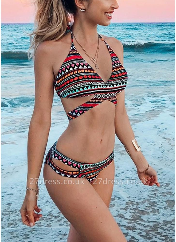 Women Sexy Bikini Set Padded Top Bottom Beach Swimwear Swimsuit Bathing Suit