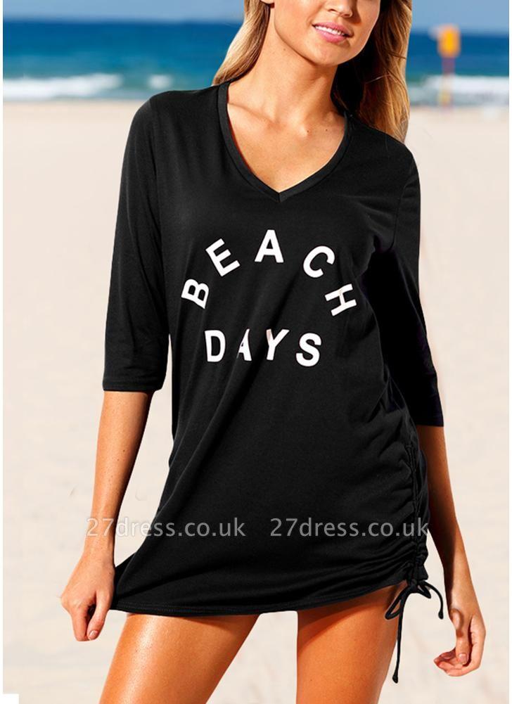 Women Beach Sexy Bikini Cover Up Tie Side Summer Dress Casual