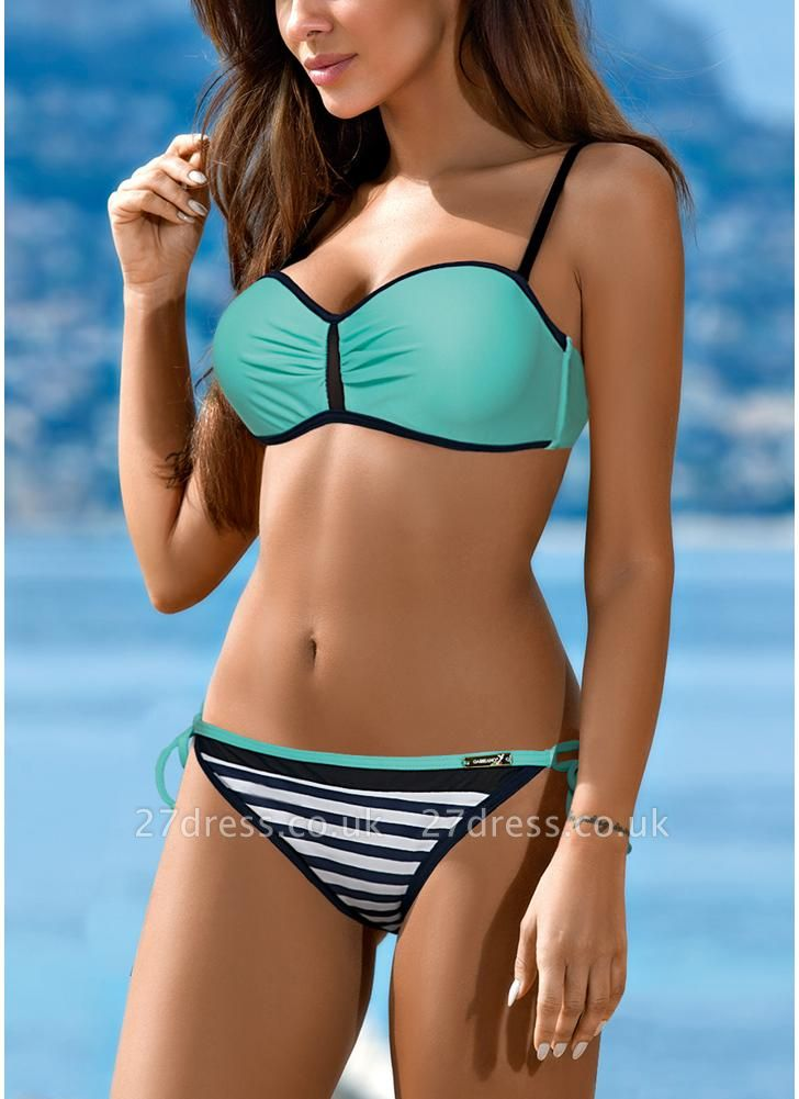 Sexy Bikini Set Contrast color