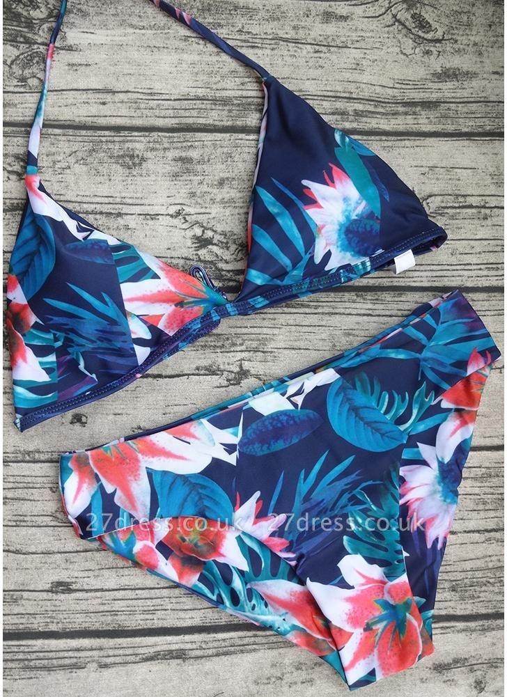 Women Jungle Print Sexy Bikini Set Summer Beach Swimwear Two Piece Swimsuit