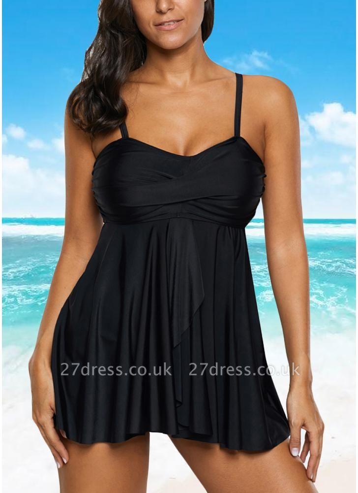 Women Sexy Bikini Set Strappy Ruched Wireless Swimwear Beach Wear Two Piece