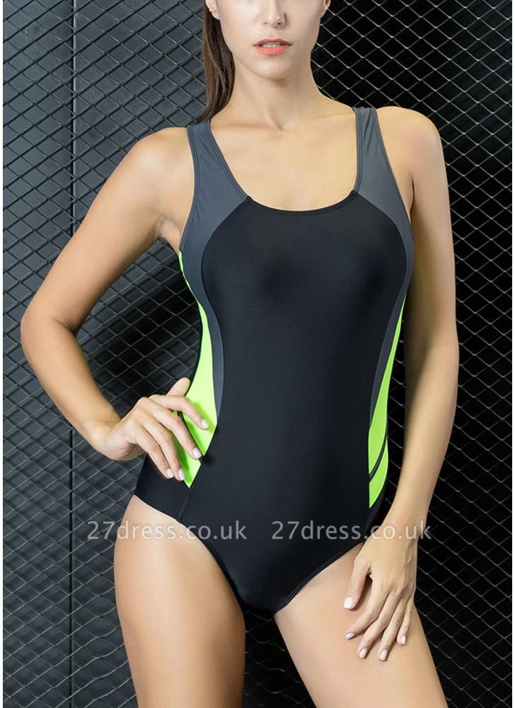 Women Professional Sports One Piece Swimsuit  Brazilian Swimwear Beachwear