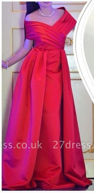 Sexy Off The Shoulder Long Prom Dress UK Floor Length Party Gowns