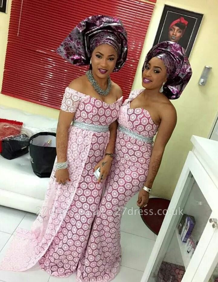 Designer Arabian Style Lace Evening Dress UK Pink Floor Length