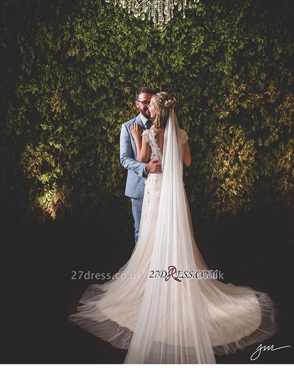 Lace tulle wedding dress, princess bridal gowns