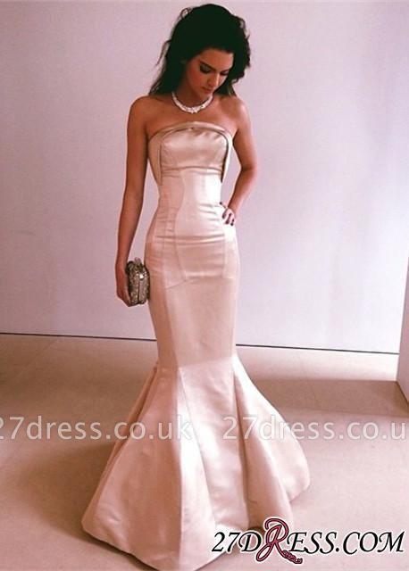 Gorgeous Long Strapless Floor-Length Mermaid Evening Dress UK