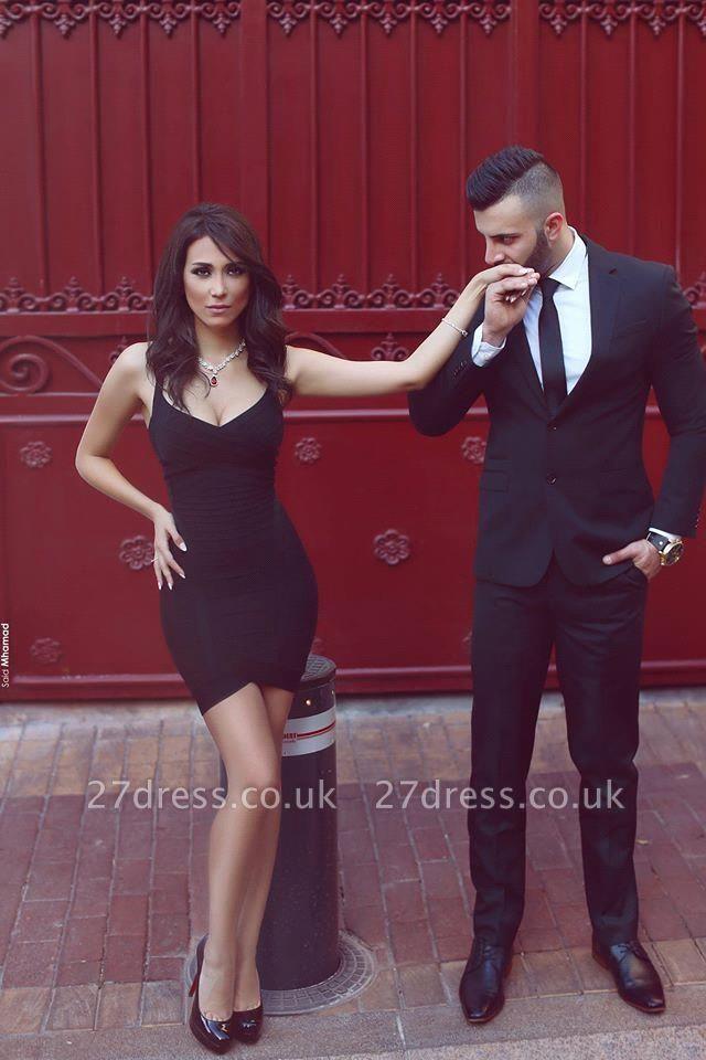 Elegant Black Sweetheart Cocktail Dress UK Tight Homecoming Dress UKes UK On Sale