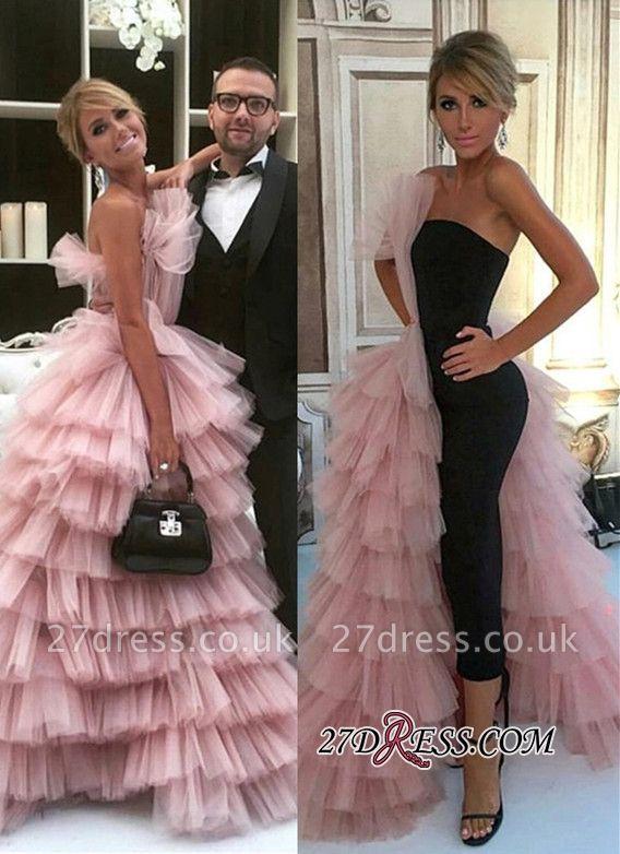 Long Mermaid Designer Tulle Gorgeous Layer Evening Dress UK