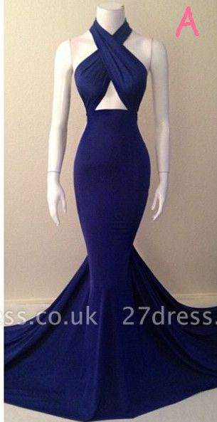 Sleeveless Mermiad Halter Sleeveless Evening Dress UKes UK Special Womens Party Dress UKes UK