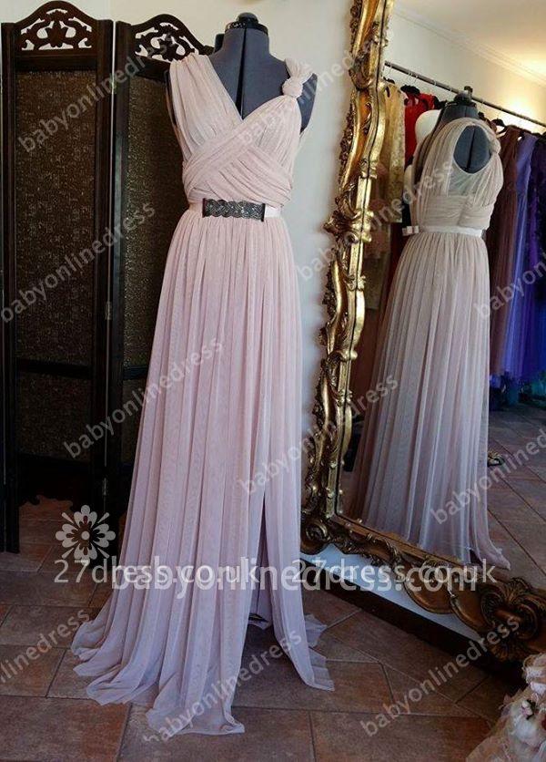Hot Sale Designer Long Chiffon Prom Dress UK On Sale