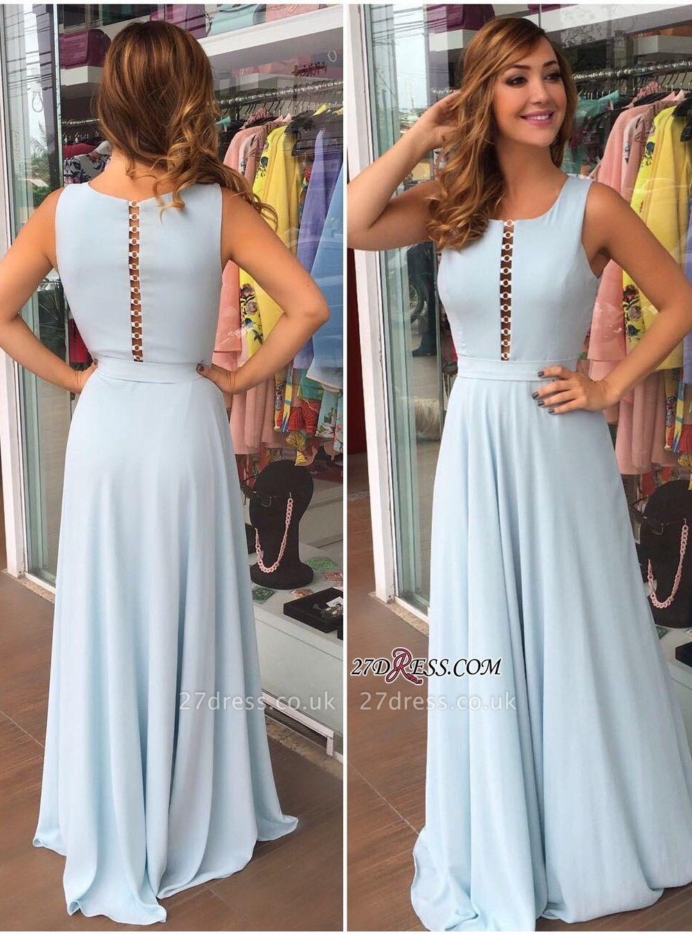 Long chiffon prom Dress UK, evening party Dress UK on sale