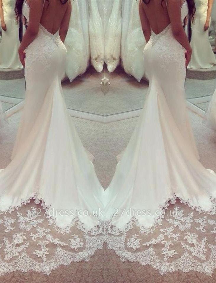 Stunning Sweetheart Lace Wedding Dress Sexy Mermaid