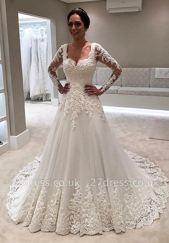Long Sleeve Wedding Dress | Lace Bridal Gowns On Sale