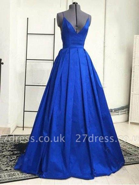 Sexy V-Neck Long Evening Dress UK HT004