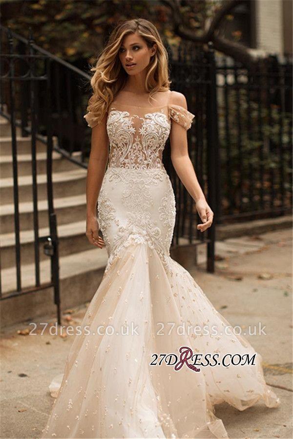 https://www.27dress.co.uk/tulle-newest-off-the-shoulder-appliques-mermaid-wedding-dress-g107452?cate_2=2?utm_source=blog&utm_medium=dare2wear&utm_campaign=post&source=dare2wear
