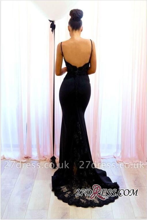 Black mermaid prom Dress UK, lace evening Dress UKes UK