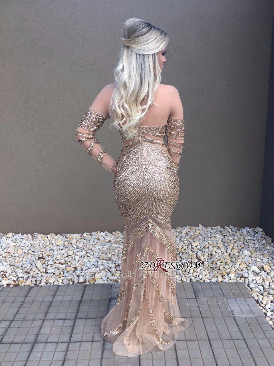 Long sleeve crystal prom Dress UK,formal Dress UKes UK online