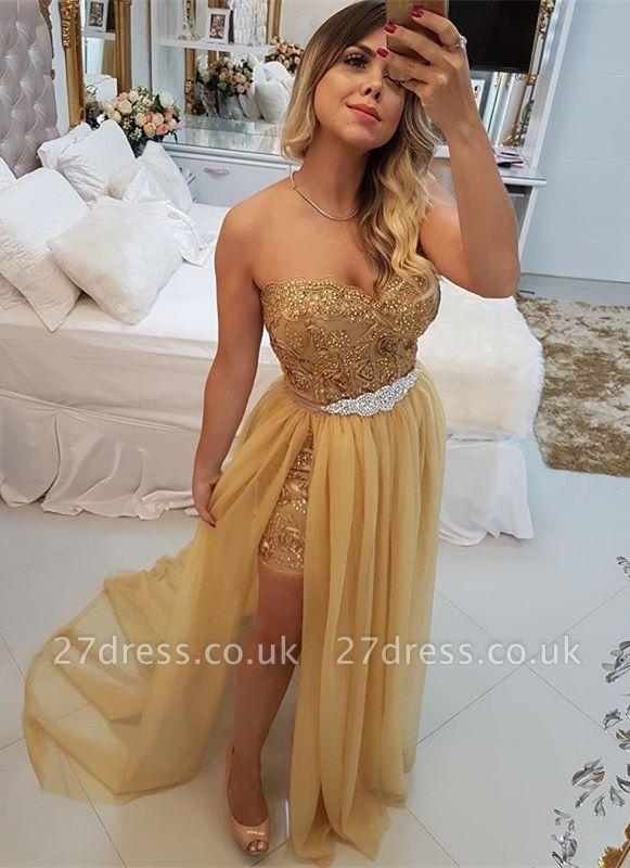 Stunning Sweetheart 2019 Evening Dress UK | Long Prom Party Dress UK With Skirt