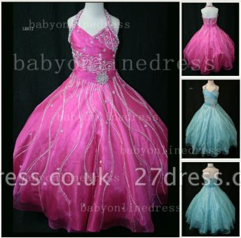 Teens Glitz Pageant Dresses for Girls with Inexpensive Formal Gowns Sweetheart Beaded Crystal