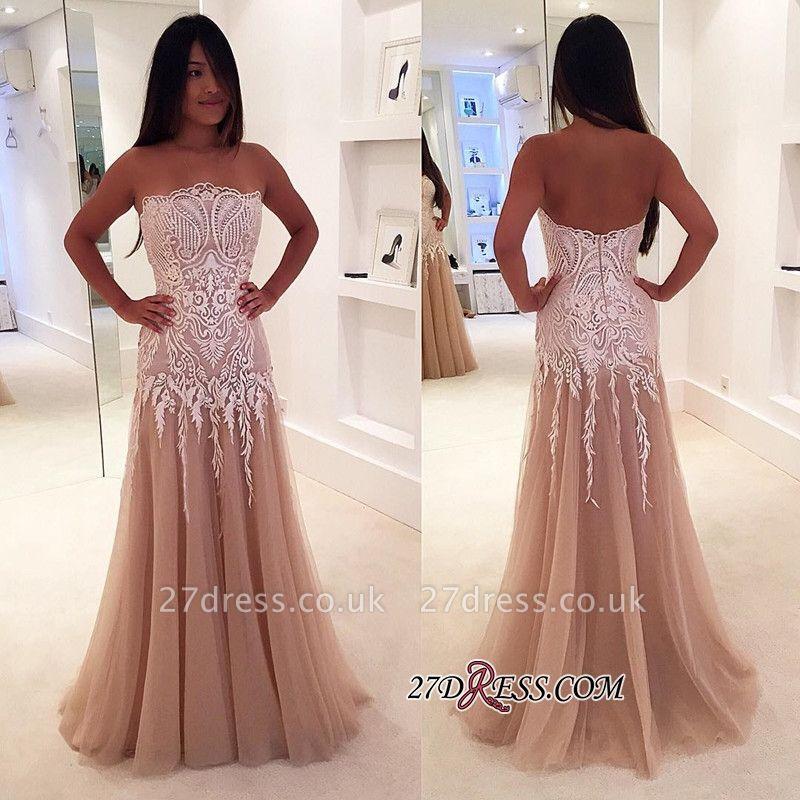Lace tule prom Dress UKes UK, mermaid evening Dress UK