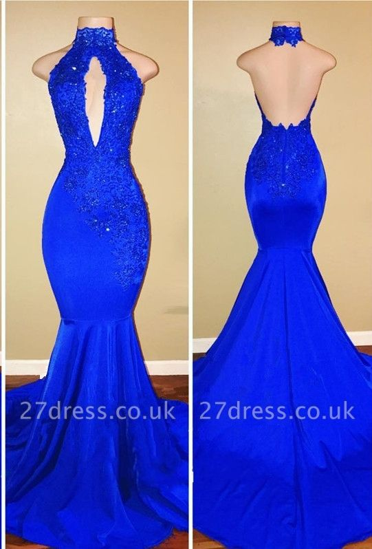 Mermaid Floor Length Sexy Keyhole Evening Gowns UK   Sequins Prom Dress Cheap Online