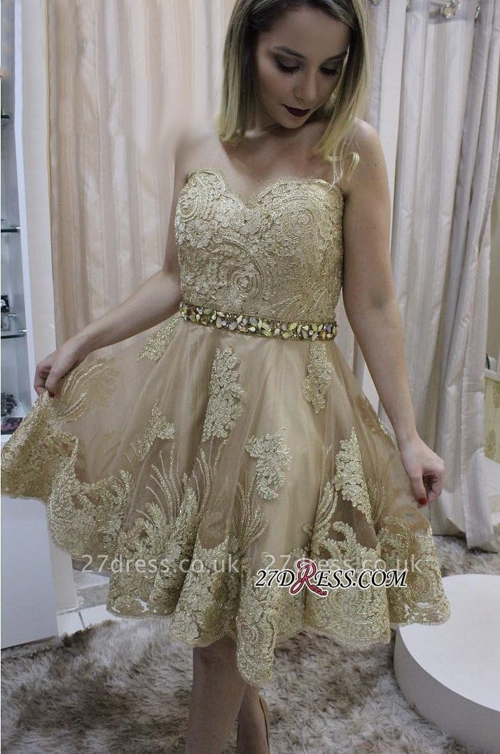 Lace homecoming Dress UK, short prom Dress UK on sale