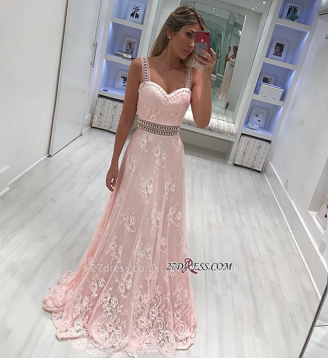 Strap lace prom Dress UK, mermaid evening gowns ba9599