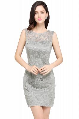 Back-Zipper Sheath-Column Lace Short-Mini Scoop-neckline Cocktail Dress UK_6