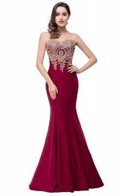 EMMY | Mermaid Floor-Length Sheer Prom Dresses with Rhinestone Appliques_1