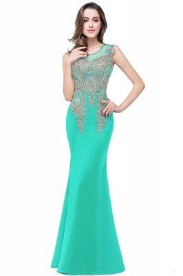ADDISYN | Mermaid Floor-length Chiffon Evening Dress with Appliques_7