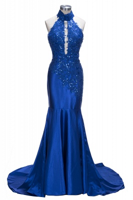 Mermaid Floor Length Sexy Keyhole Evening Gowns UK   Sequins Prom Dress Cheap Online_1