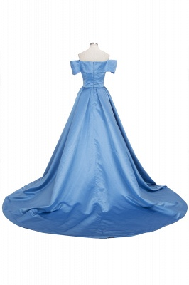 Gorgeous Off-the-Shoulder Mermaid Evening Dress UK Long With Slit BA6777_6