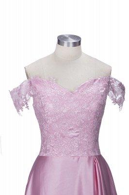 Split Lace Long Sexy Floor-Length Off-the-Shoulder Evening Dress UK_4
