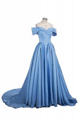 Gorgeous Off-the-Shoulder Mermaid Evening Dress UK Long With Slit BA6777_8