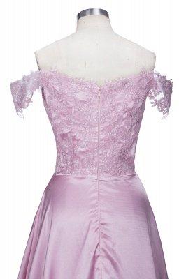 Split Lace Long Sexy Floor-Length Off-the-Shoulder Evening Dress UK_6