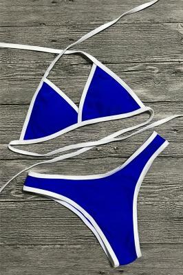 Multi-color Swimwear Sexy Bikini Set_8