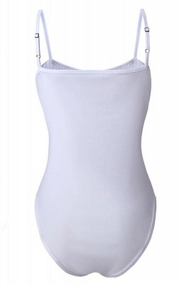 One-piece Lace-up Women's Swimsuit_1
