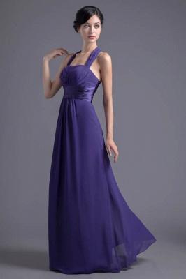 Sexy A-line Chiffon Halter Evening Dress UK Zipper Floor-length_1