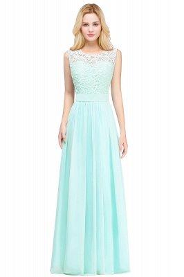 Pink Long Sleeveless Sheer-Back Prom Dress UK Sexy Lace Chiffon Bridesmaid Dress UK_4