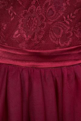 A-Line Light Chiffon Jewel Sleeveless Sweep Train Bridesmaid Dress UKes UK UK with Ruffles_8