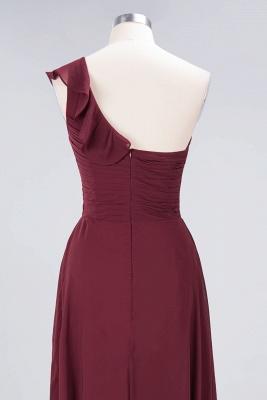 Sexy A-line Flowy One-Shoulder Sweetheart Sleeveless Floor-Length Bridesmaid Dress UK UK with Ruffles_6