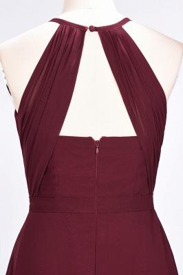 Sexy A-line Flowy Jewel Sleeveless Floor-Length Bridesmaid Dress UK UK with Ruffles_6